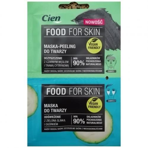 Peeling i maska Cien Food For Skin