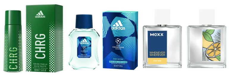 Mexx Whenever, Wherever, UEFA Dare Edition, Adidas CHRG