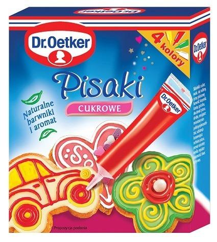 dr oetker pisaki cukrowe