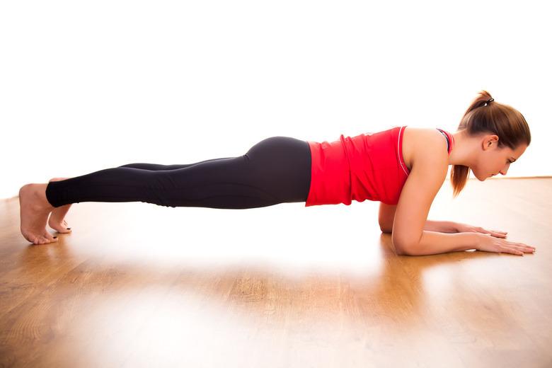pozycja plank