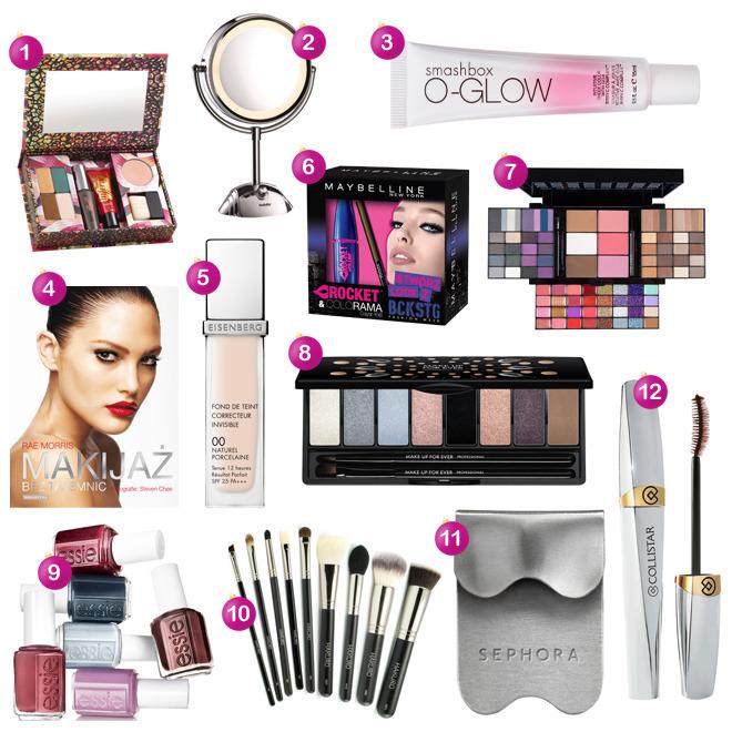 prezenty dla fanki makijażu