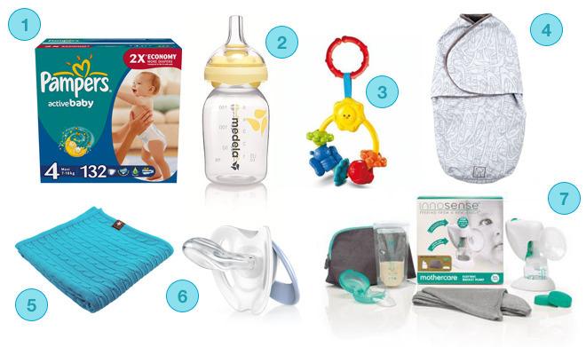 Praktyczne prezenty na baby shower