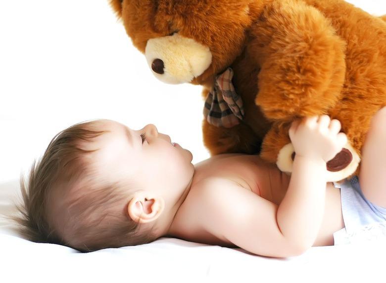 przytulanki dla niemowląt