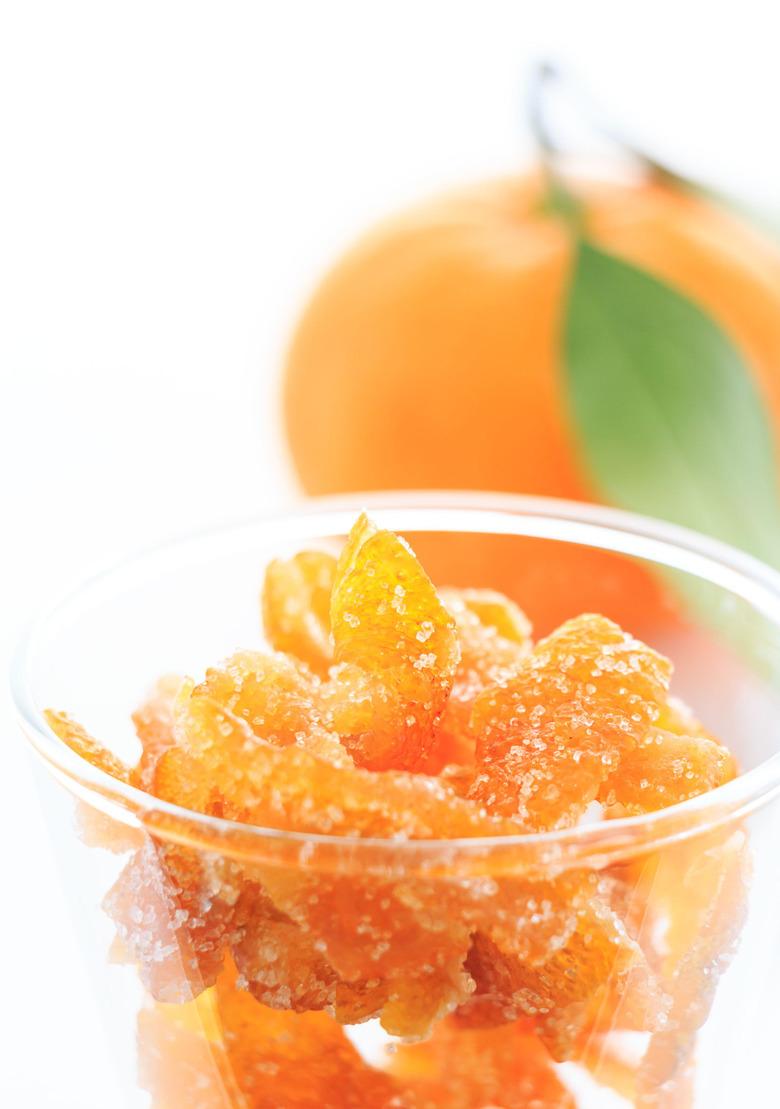 pomarańcza kandyzowana