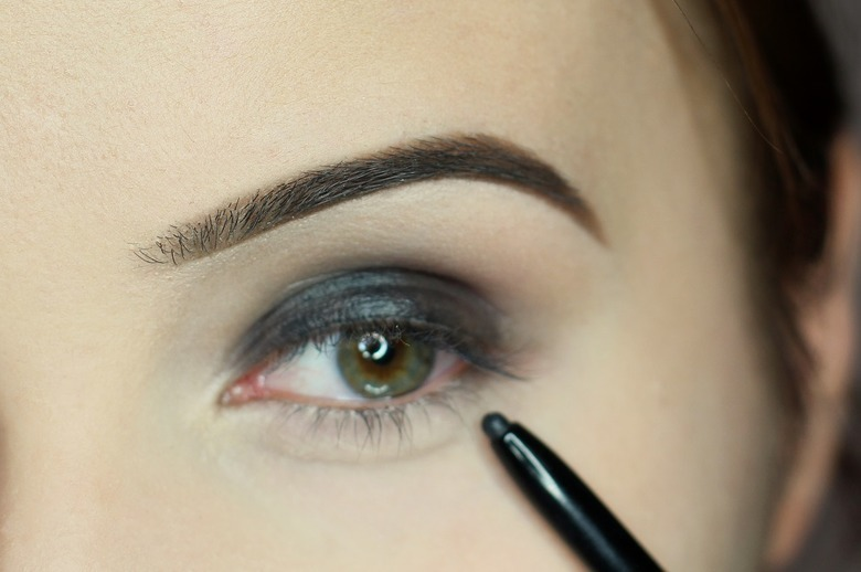 smoky eyes dla zieloych oczu
