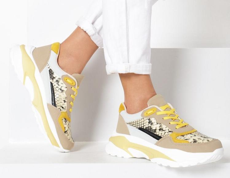 kolorowe sneakersy born 2 be