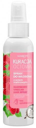 Spray do włosów z octem malinowym Marion