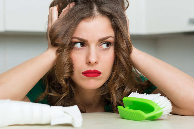 sprzątanie kobieta