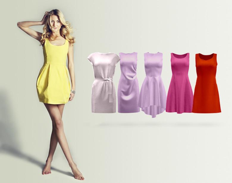sukienka luv design