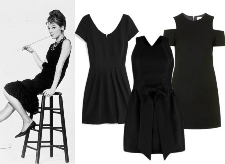 Mała czarna Audrey Hepburn