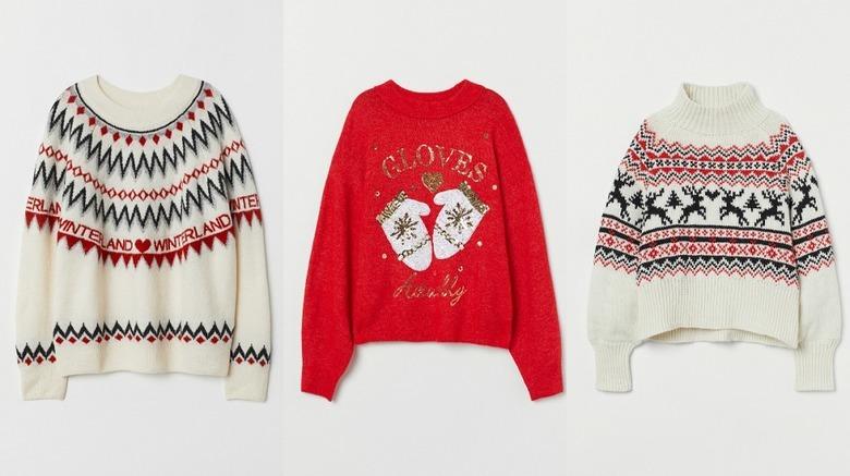 Sweter świąteczny H&M
