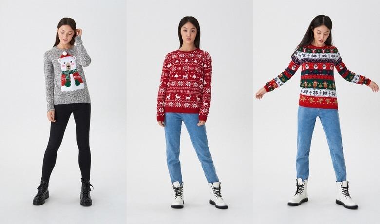 Sweter świąteczny House