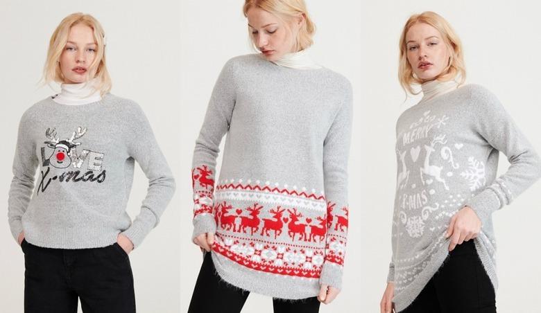 Sweter świąteczny Reserved