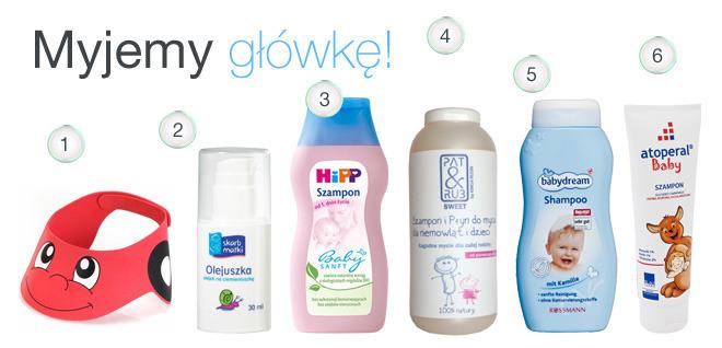 szampony dla dzieci