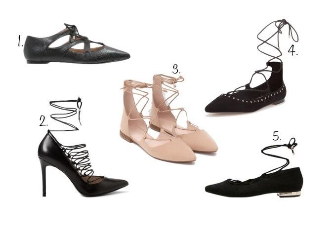 sznurowane buty jesień 2015