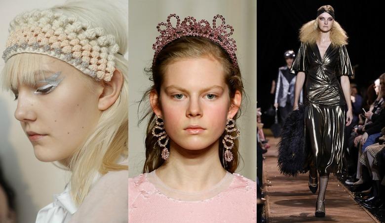 Trendy włosowe 2020: Opaski do włosów