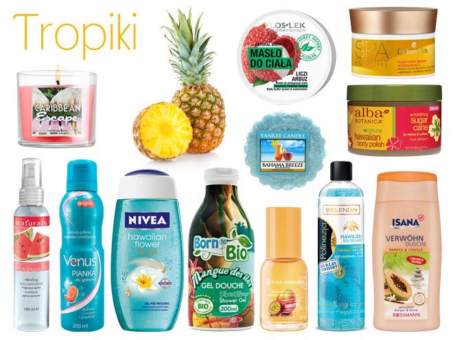 tropikalne kosmetyki