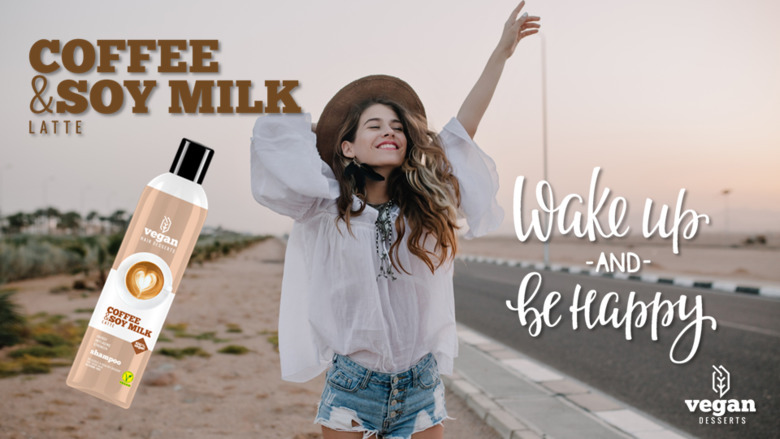 Coffe&Soy Milk Latte Vegan Desserts