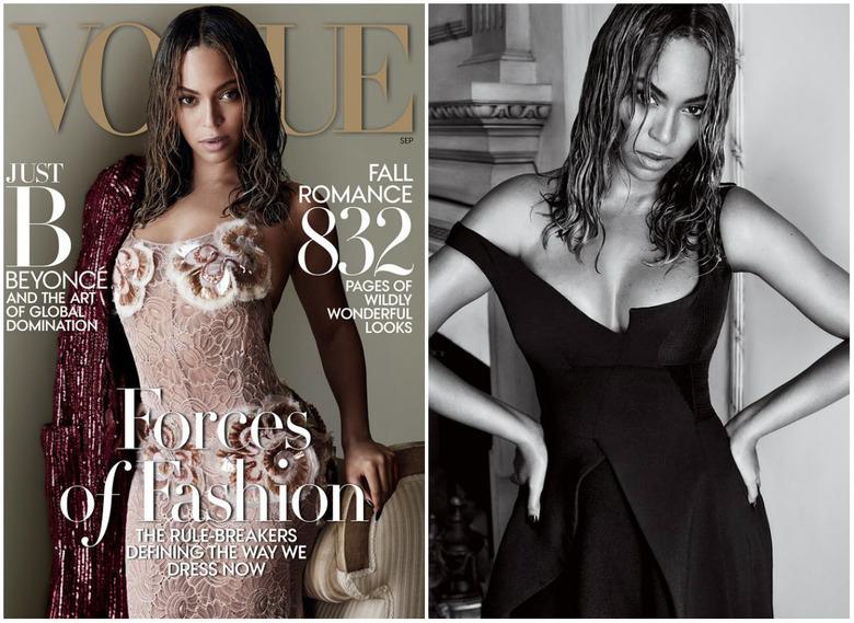 Okładka wrześniowego Vogue'a