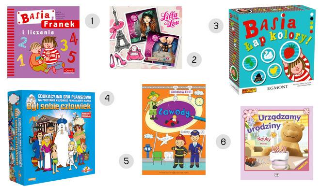 zabawki i książeczki edukacyjne dla niemowląt