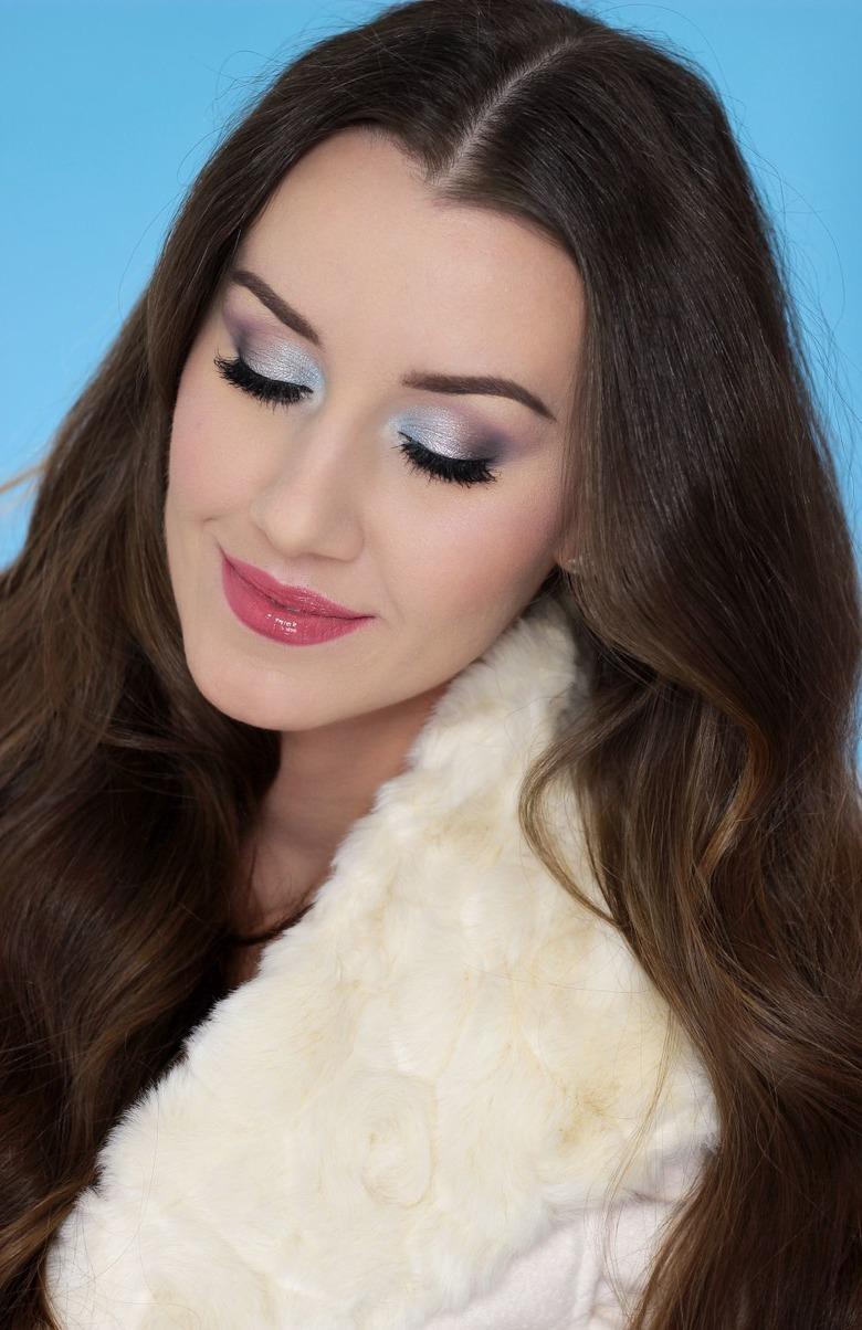 Zimowy makijaż