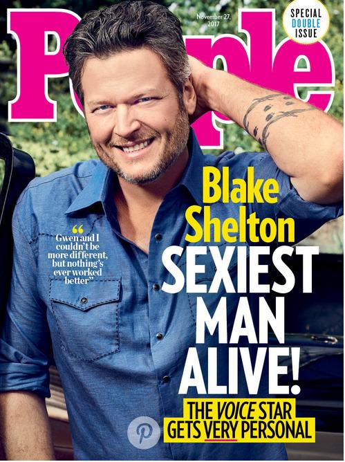 Blake Shelton na okładce People