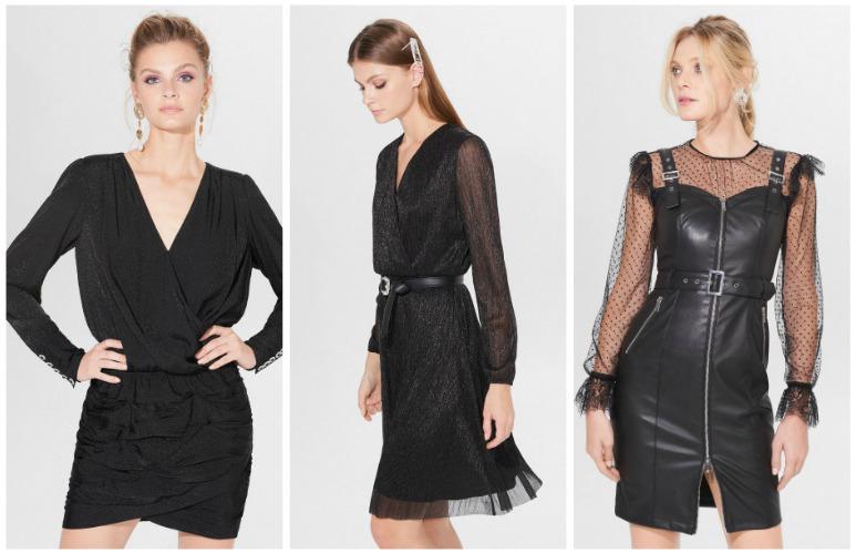 czarna sukienka na sylwestra mohito