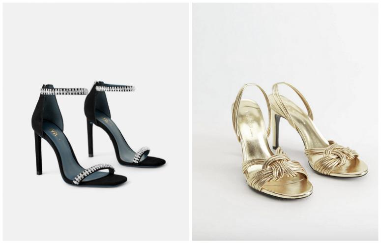 szpilki sandały na sylwestra 2019