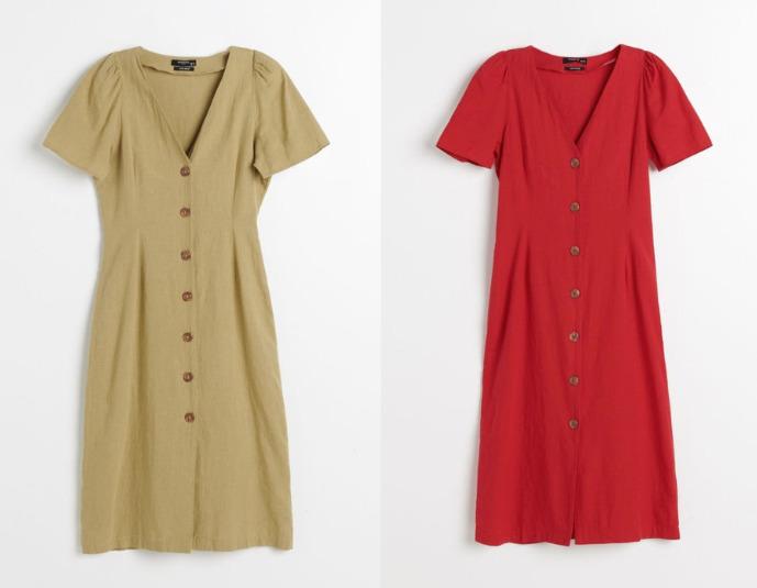 modne sukienki na wyprzedaży w reserved