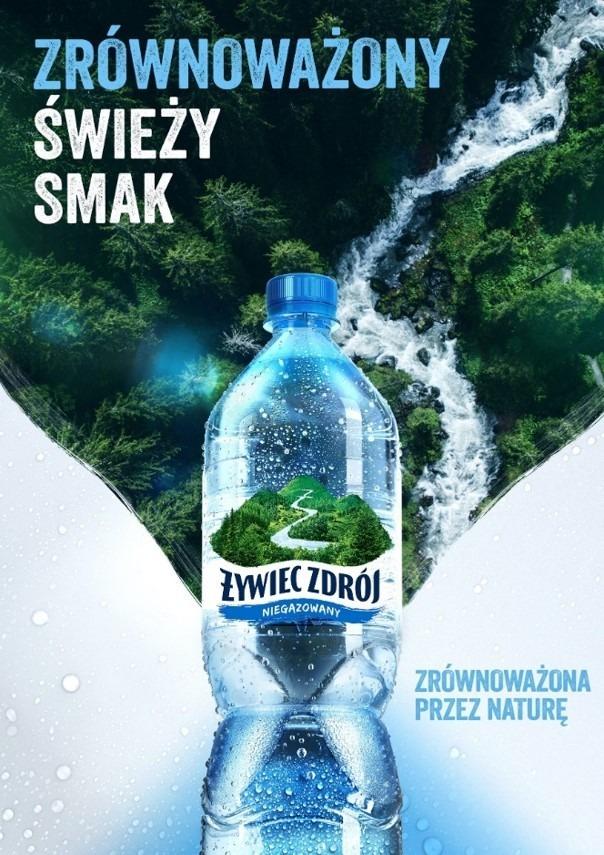 nowa odsłona wody Żywiec Zdrój