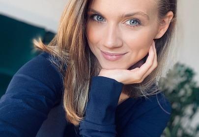 Agnieszka Kaczorowska w hitowym kombinezonie z Sinsay