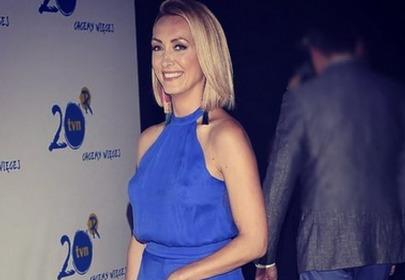 anna kalczyńska niebieska sukienka