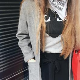 dziewczyna z białą bandanką #tiedtogether