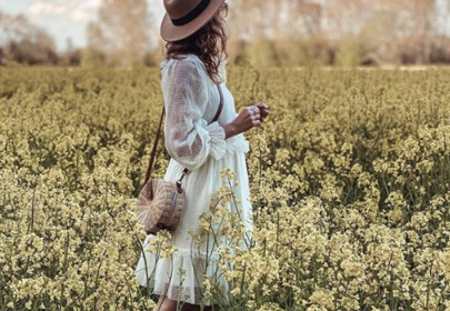 biała sukienka mohito