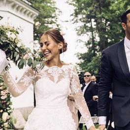 kenza zouiten suknia ślubna wesele para młoda