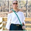 Bluzka bez ramion - trend na lato 2016