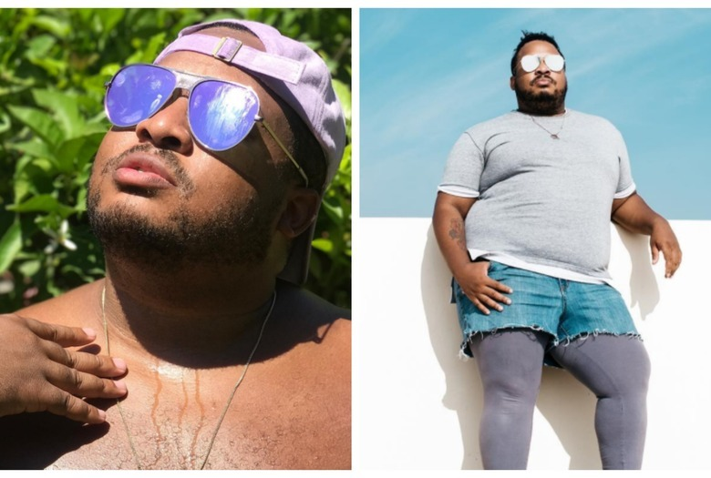 Dexter Mayfield model plus size