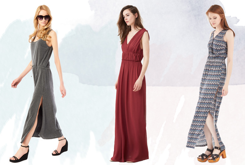 ce4a6a00ee Długie sukienki na wiosnę i lato - sprawdź