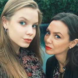 Selfie Igi Lis i Kingi Rusin