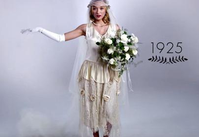 historia mody ślubnej