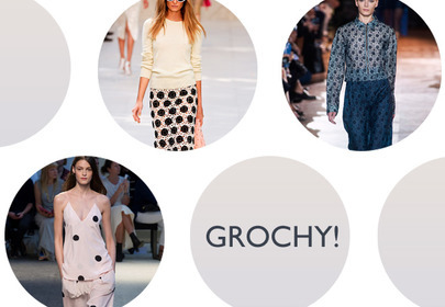 trendy lato 2014 - grochy