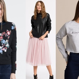 modelki w bluzach