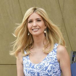 ivanka trump w polsce warszawa blondynka rozwiane włosy