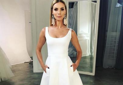izabela janachowska biała suknia na wesele