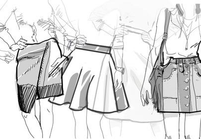 fasony spódnic jak dobrać