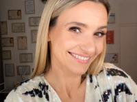 Joanna Koroniewska w modnej sukience w kratkę z Reserved