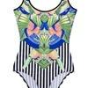 jednoczęściowy kostium kąpielowy we wzory, CARRY, 69,99zł