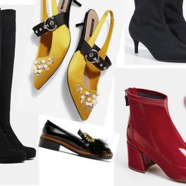 modne buty na jesień kozaki botki szpilki mokasyny