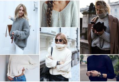 Modne swetry 2015