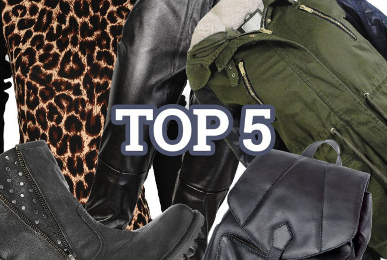 top 5 must have na listopad